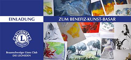 Lions Club Braunschweig: Benefiz-Kunst-Basar 2014